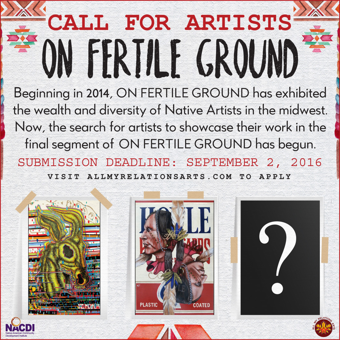 All My Relations Arts | CALL FOR ARTISTS – On Fertile Ground