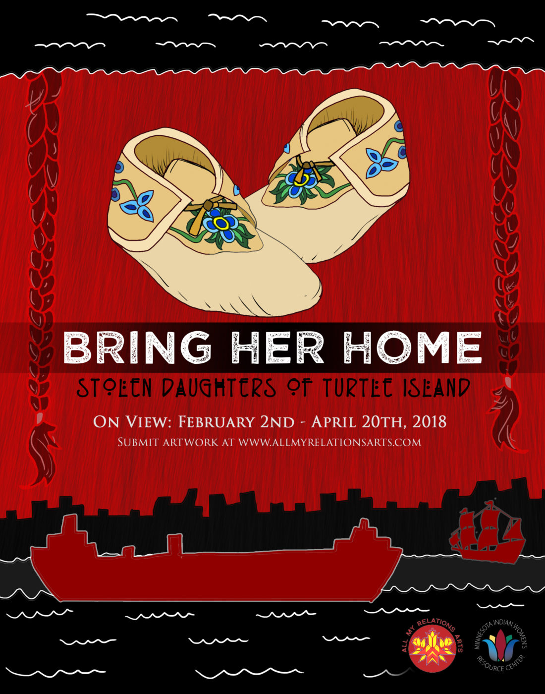 All My Relations Arts | Bring Her Home: Stolen Daughters of